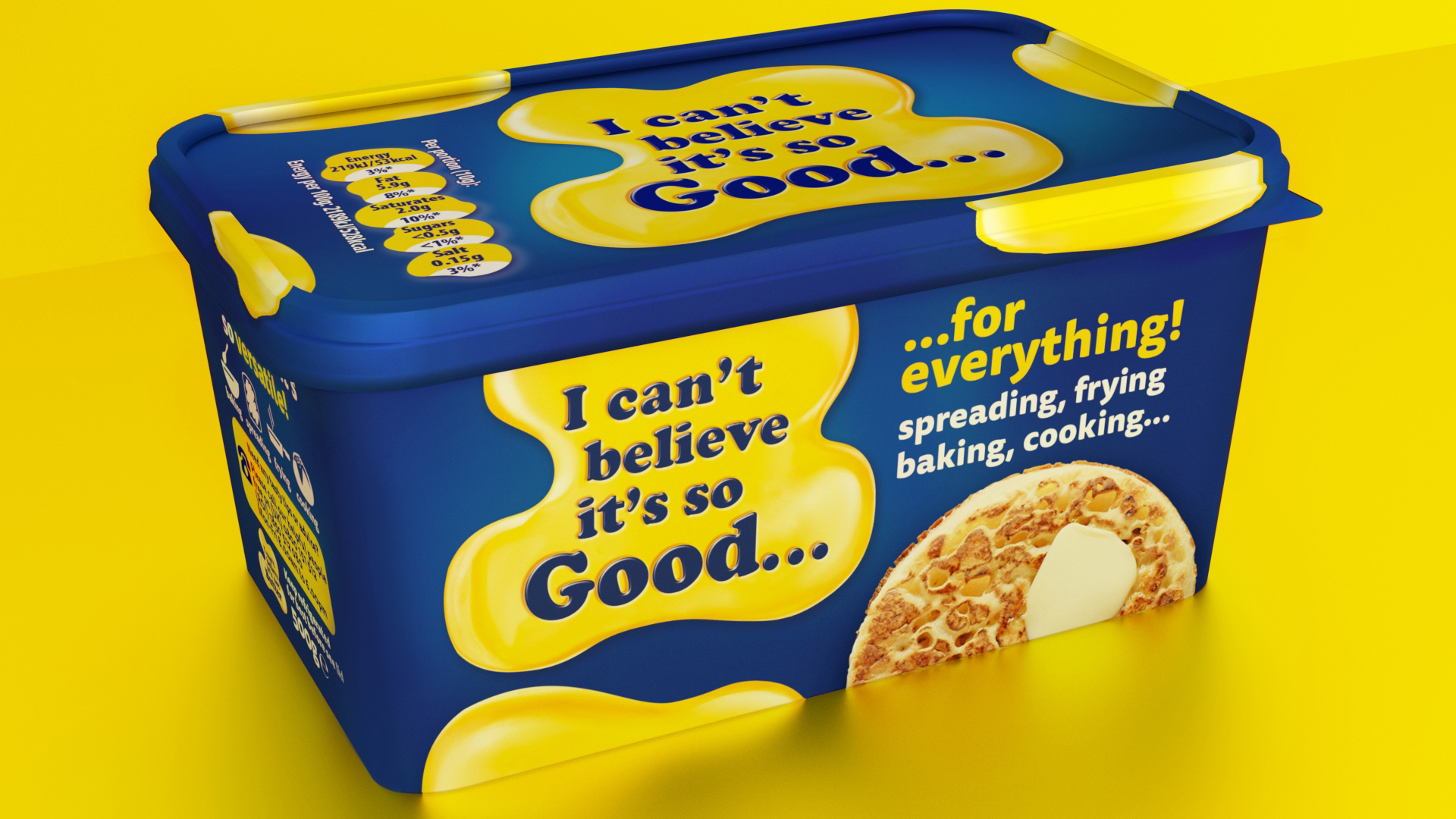 I can't believe its so good packaging design and branding by slice