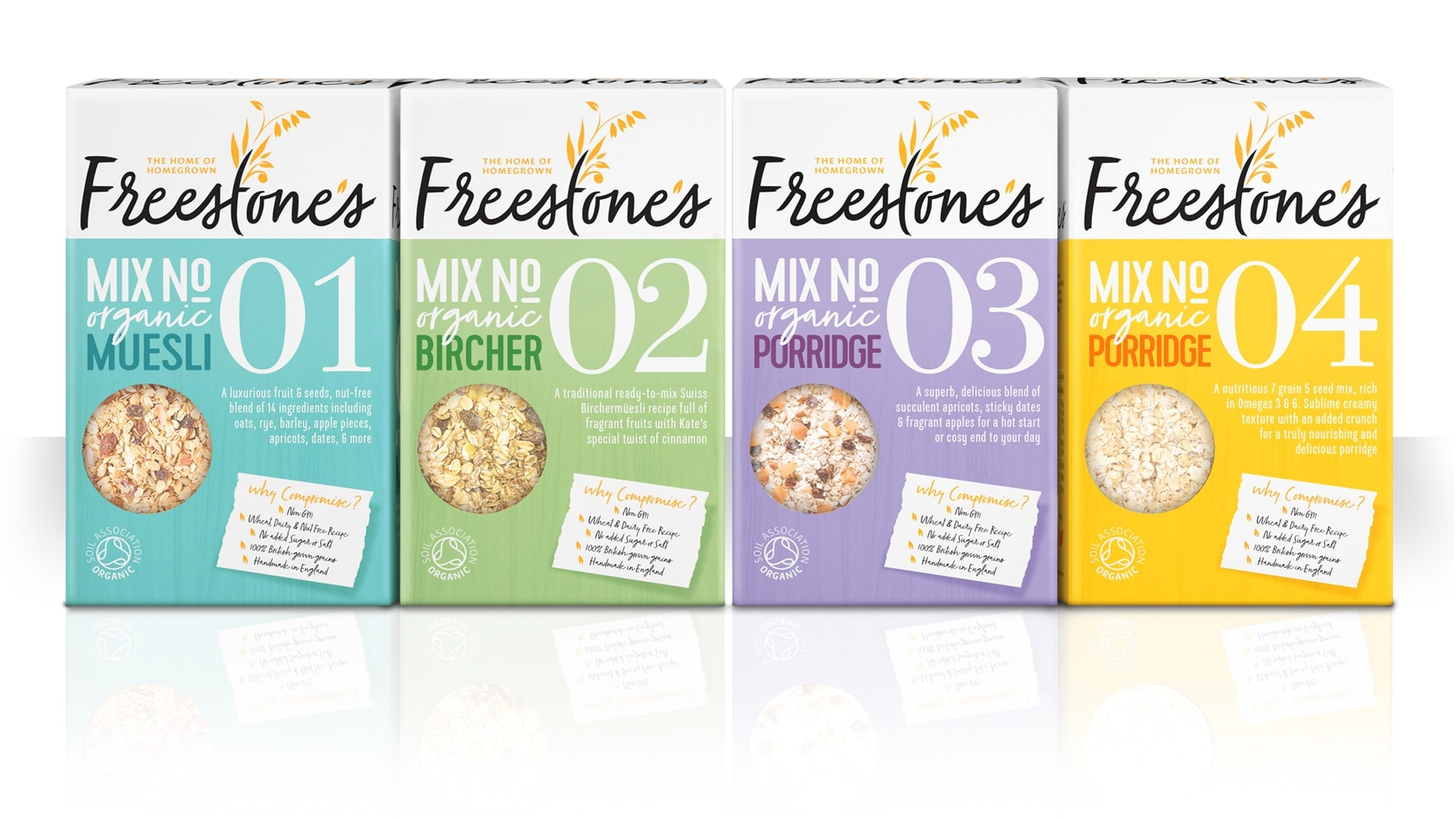 freestones branding and packaging design