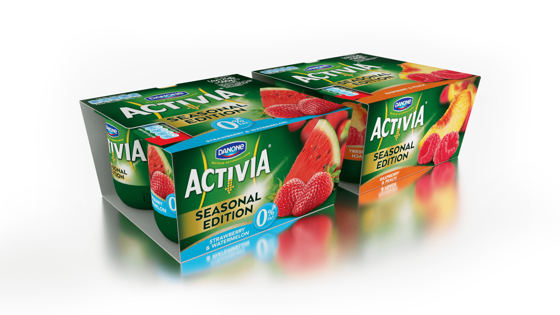 activia branding and packaging design